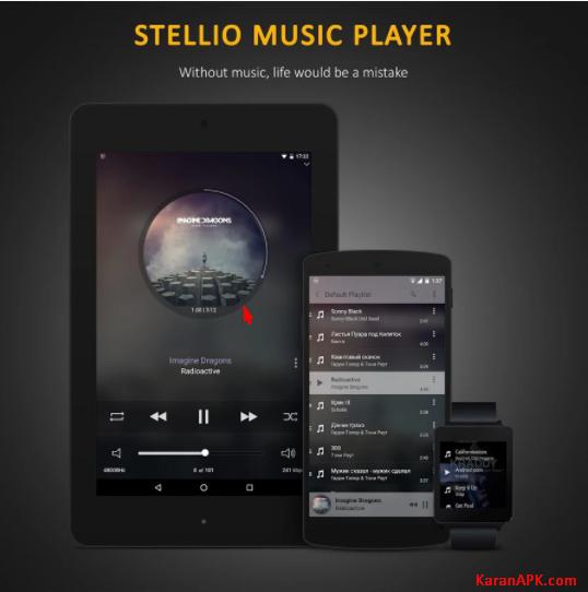 Stellio Music Player Interface