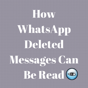Read WhatsApp Deleted Messages