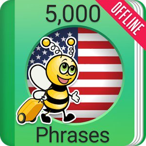 Learn American English Phrasebook – 5000 Phrases v2.3.6 [PRO]