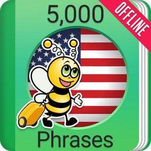 Learn American English Phrasebook - 5000 Phrases