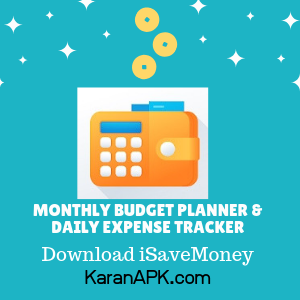 iSaveMoney or Monthly Budget Planner & Daily Expense Tracker