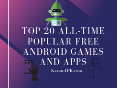 Popular Free Android Games And Apps