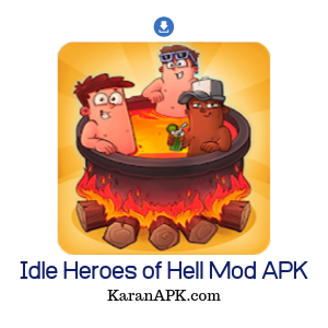 idle heroes of hell pro mod apk