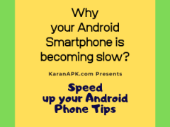 Top 3 Tips to Speed Up Your Android Phone